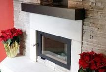 Fireplace Mantels / Wood mantels, stone mantels and mantel shelves all available at one place and ALL AMERICAN MADE. No Imports!