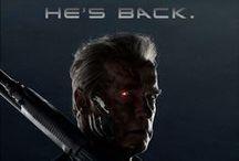 Terminator Genisys / July 1, 2015: he said he'd be back. Starring Arnold Schwarzenegger, Emilia Clarke, Jai Courtney, Jason Clarke, Matt Smith, Byung-Hun Lee & JK Simmons / by Paramount Pictures