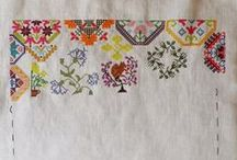 Mary Wigham Sampler - WIP