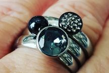 MelanO Jewelry / Nice changeable silver and stainless steel jewelry