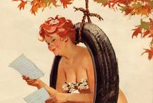 Hilda!  / Pin up Hilda by Duane Bryers. Never seen before but so funny!!