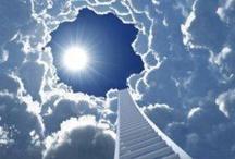 Stairway to heaven... * Trapje naar de Hemel / Een laddertje naar de hemel....