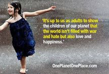 One Planet One Place / Making a difference - One moment at a time