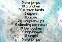 The workouts (that i should properly use and not just look at)