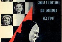 Cinema-Bergman / Raccolta di immagini di manifesti di films di Ingmar Bergman