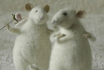 Mice * Rats (Needle felted)
