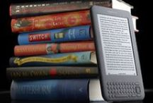 NEW on our KINDLES! / Yep, we have several KINDLES that library patrons may borrow.  They're loaded with over 200 titles! / by Lake Oswego Public Library