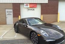 Our Work / Automotive window tinting by the professionals at Shade Custom Tint.