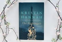 The Nightingale / by Kristin Hannah. Commissioned by St Martin's Press through Just Another Agency to alter one of my existing paintings (The Nightingale And The Rose) for the gold detail on the cover and spine. Languages: English, Spanish, Portuguese, Korean, Italian. Let me know if you find it in another language! xx