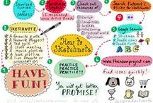 Sketchnote / Learning about visual notetaking