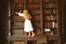 Bibliophile  / A Life Spent Reading and Enjoying Books. / by Amanda Hertel