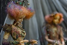 Artful Dollies / Fantastic Works of Handcrafted Art.