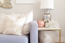 Home & Interior Accessories / Home decorating, accessories and interior design ideas. Things I would love for my home, and my own home decor ideas.