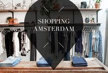 """Shopping - Amsterdam / What to do in Amsterdam? Shopping in the cosy streets and beautiful boutiques along the canals. Your Little Black Book's board is filled with shopping tips and must visit locations for when you are in Amsterdam, The Netherlands. ➜ DOWNLOAD OUR APP with over 700 addresses, just search for """"YOURLBB"""" in your app-store!"""