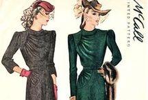 1940 dress patterns