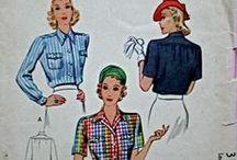 1940 blouse patterns