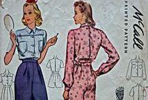 1940 nightwear, lingerie & swimsuit patterns