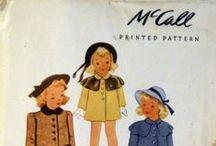 1940 children's patterns