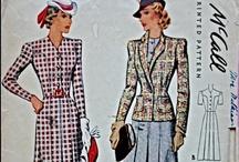 1940 suit patterns