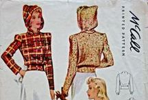 1940 jacket and coat patterns