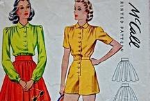 1940 playsuit patterns