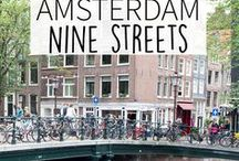 """Nine Streets - Amsterdam Guide / The Nine Streets in Amsterdam are must visit streets if you want to escape from all the tourist and want to shop at beautiful boutique stores. Your Little Black Book knows the must visit places for when you're visiting the Nine Streets in Amsterdam, The Netherlands. Including hotspots, restaurants, shops, bars and more. ➜ DOWNLOAD OUR APP with over 700 addresses, just search for """"YOURLBB"""" in your app-store!"""