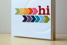 Cards / Cards I love from Studio Calico and around Pinterest.