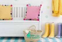 Decorate with color / decorating your home to display personality and color