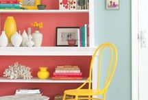 Painting 101 / full of painting tips, how to choose the right color, to painting furniture and front doors and much more.