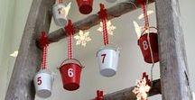Advent Calendar Ideas / Make your own Advent Calendar this Christmas