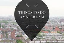 """Things To Do - Amsterdam / Your Little Black Book's list of things to do and see when you visit Amsterdam, The Netherlands. From the best restaurants, hotspots, attractions, museums, neighbourhoods, sights and views to shops and more. ➜ DOWNLOAD OUR APP with over 700 addresses, just search for """"YOURLBB"""" in your app-store!"""