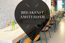 """Breakfast - Amsterdam / Are you a breakfast lover? Then check out Your Little Black Book's list of the best breakfast hotspots, restaurants, bars, cafes and bakeries in Amsterdam, The Netherlands. ➜ DOWNLOAD OUR APP with over 700 addresses, just search for """"YOURLBB"""" in your app-store!"""