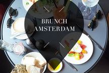 """Brunch - Amsterdam / Your Little Black Book's list of the best brunch hotspots, restaurants, bars, cafes and bakeries in Amsterdam, The Netherlands. These are must visit places to go for a delicious breakfast or lunch. ➜ DOWNLOAD OUR APP with over 700 addresses, just search for """"YOURLBB"""" in your app-store!"""