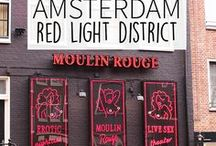 """Red Light District - Amsterdam Guide / Of course a visit to Amsterdam is not complete without a tour through the Red Light District. But did you know this neighbourhood has much more to offer than just the female entertainment? Discover it all in Your Little Black Book's list of the best spots in the Red Light District in Amsterdam, The Netherlands. Including must visit restaurants, bars and sights. ➜ DOWNLOAD OUR APP with over 700 addresses, just search for """"YOURLBB"""" in your app-store!"""