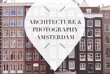 """Architecture/Photography - Amsterdam / Amsterdam, in The Netherlands, is such a photogenetic city. There's beautiful architecture, canals, and parks so it's the perfect location to travel to if you love photography. There are romantic views and sights wherever you go so don't forget to bring your camera. ➜ DOWNLOAD OUR APP with over 700 addresses, just search for """"YOURLBB"""" in your app-store!"""