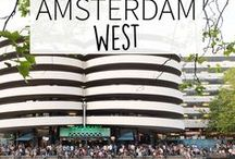 """Amsterdam West - Amsterdam Guide / Multi cultural, a big indoor foodmarket named the Foodhallen, many events at the 'Westergas terein' and lots of hotspots. Amsterdam West has it all. Your Little Black Book knows the must visit places for when you're exploring the west part of Amsterdam, The Netherlands. Including hotspots, restaurants, shops, bars and more in the neighborhoods Bos en Lommer, De Baarsjes and Westerpark. ➜ DOWNLOAD OUR APP with over 700 addresses, just search for """"YOURLBB"""" in your app-store!"""