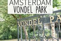 """Vondelpark - Amsterdam Guide / The Vondelpark is the biggest park in the city center of Amsterdam and a perfect spot to have your picknick. But it also has a look of terracces that you can go to. Your Little Black Book knows the must visit places for when you're exploring the Vondelpark Amsterdam, The Netherlands. Including hotspots, restaurants, things to do and more. ➜ DOWNLOAD OUR APP with over 700 addresses, just search for """"YOURLBB"""" in your app-store!"""