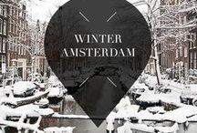 """Winter - Amsterdam / Travel to Amsterdam, The Netherlands, during winter for beautiful and romantic canal views. Your Little Black Book knows the must visit hotspots, restaurants, attractions, bars and other places to visit during the holiday season. ➜ DOWNLOAD OUR APP with over 700 addresses, just search for """"YOURLBB"""" in your app-store!"""