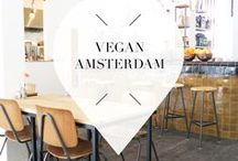 """Vegan Hotspots - Amsterdam / Want to eat vegan in Amsterdam, The Netherlands? No problem! Your Little Black Book listed some great vegan hotspots, bars, restaurants and other vegan must visits for you. ➜ DOWNLOAD OUR APP with over 700 addresses, just search for """"YOURLBB"""" in your app-store!"""