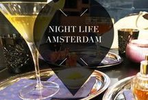 """Night Life - Amsterdam Guide / Want to explore the night life in Amsterdam, The Netherlands? Your Little Black Book knows where to go. Bars, restaurants, cocktails bars, beautiful rooftops, clubs and more. ➜ DOWNLOAD OUR APP with over 700 addresses, just search for """"YOURLBB"""" in your app-store!"""