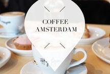 """Coffee - Amsterdam / Visiting Amsterdam in The Netherlands and in need for some real good coffee? Your Little Black Book knows where you should go and listed the nicest bars, restaurants, cafes and other hotspots that serve coffee. ➜ DOWNLOAD OUR APP with over 700 addresses, just search for """"YOURLBB"""" in your app-store!"""