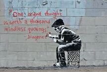 Banksy / Bansky's street. / by Melissa Miranda