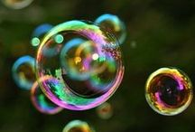 Bubblescent /     I'm forever blowing bubbles,     Pretty bubbles in the air.     They fly so high,     Nearly reach the sky... / by Marianne
