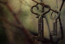 Under Lock and Key / It's often the last key in the bunch that opens the lock.  / by Marianne