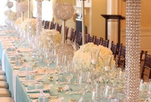 Centrepieces  / by SuperNova Wedding Design & Flowers