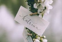 PLACE CARDS / by design by dainty