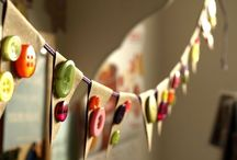 Hang it up / Garlands, bunting and lots of things to hang up and celebrate anytime / by Emelia Hedstrom Pampered Chef