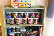 Playroom Paradise / Playroom, homeschool, daycare, and just all around fun spaces for children to grow and learn. Learning activities, decor inspiration, and organizational tips.