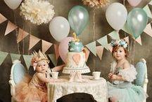 Lucilia's Birthday Brunch Playdate / Garden Party / by Diolinda Vaz