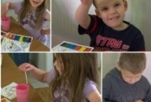 Crafty Kiddos #craftandDIYforkids / These fun kid crafts are sure to keep your little ones busy!